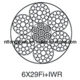 Special-Purpose Steel Wire Rope 6X29fi+Iwr