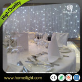 Indoor Decoration 4*6m White LED Star Cloth Curtain Light with CE