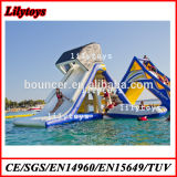 China Newest Inflatable Floating Slide Water Slide Water Sport Game Toys (J-water park-05)