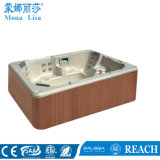 Rectangular 8-9 People Us Acrylic Whirlpool Massage SPA Tub (M-3319)
