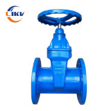 DIN3202 F4 Rising_Gate_Valve DN200 Soft Seated Wedge Hanwheel Ductile Iron Water Gate Valve with Price Pressure Pn10/16