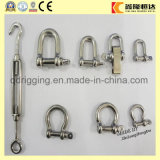 Different Size Galvanized U Shackle with Colored Safety Pin