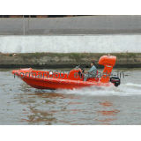 Hot Sale 6.18m Marine Rescue Boat for Rescuing, Fiberglass Lifeboat
