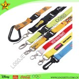 China Factory Wholesale Cheap Customized Polyester Printing Lanyard with Card Holder for Promotion