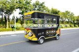 Good Quality Four Wheel Mobile Food Cart for Sale