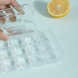 New Arrival Fashion Drawer Type Whisky Cocktail Jiuce 63 Grids 3 Pack Plastic Ice Cube Tray Maker Mold with Scoop Box