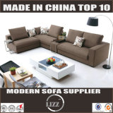 Modern Living Room Fabric Sofa with Chaise (Sweden)
