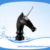 Horse Style New Look Basin Mixer with Black Color (R2014M-G)