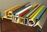 High Strength Pultruded Profiles Fiberglass Pipe Square Tube/FRP Pultruded Round Tube