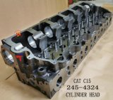 Cylinder Head 245-4324 for Excavatoe E374D E385b Wheelloader 980g Engine C15