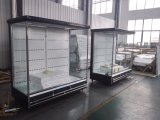Cheap Open Vertical Multideck Display Showcase with Air Curtain