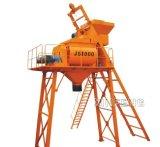 Hot Sale Twin-Shaft 1000L Concrete Mixer