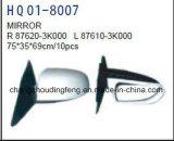Auto Spare Parts Door Mirror Fits for Hyundai Sonata 2009 Car. #OEM: 87610-3K000/87620-3K000