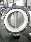 CF8 Flange Type Butterfly Valve with PTFE Seat CF8m Disc