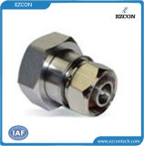 DIN 7/16 Male to N Male RF Coaxial Adapter