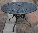 Beautiful Looking 48'' Round Table Aluminum Garden Furniture