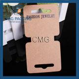 Craft Paper Necklace Hanging Holder Display Hang Cards