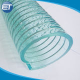 High Pressure Food Grade Spring PVC Steel Wire Hose / Stainless Steel Pipe