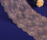 Fashion 18.8cm Elastic Embroidery Lace for Decoration