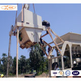 200ton/H Mobile Concrete Mixing Plant for Building