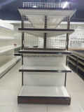 Wholesale Metal Supermarket Display Gondola Shelf