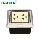Factor Sales OEM Worldwide American Multi-Functional Two-Way Floor Socket