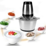 2L Electric Food Mixer Household Blender Multi-Functional Meat Grinder Stainless Steel Food Mixer for Home