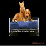 Wholesale Luxury Clear Acrylic Pet Dog Bed