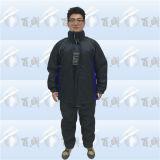 Fashion Black Custom Men Cotton Wadded Winter Jacket