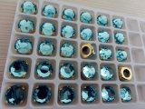 Flat Back Glass Beads Jewelry