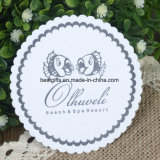 High Quality Pulp Paper Coaster Round 10 Cm Custom Logos Disposable Tissue Casters for Hotel