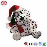 Dotted Cute Puppy Plush Soft Stuffed Dog Xmas Gift Toy