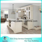 High Quality Standard White Shaker Door Solid Wood Kitchen Cabinet