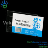 Supermarket Price Tag 70*100mm Acrylic Display Label Price Holder Price Tag