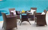 Wholesale Coffee House Outdoor Patio Garden PE Rattan Furniture