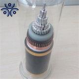 Single Core XLPE Insulated Copper Wire Shield 11kv Aluminum Power Cable