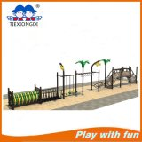 Park Wooden Bridge and Tire Swing Game for Kids