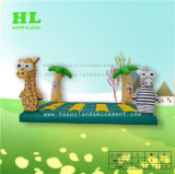 Happy Land Mini Inflatable Jumping Bouncer for Kids