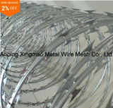 China Supplier Lower Price Concertina Razor Barbed Wire/Hot Dipped Galvanized Razor Wire