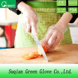 Clear Disposable LDPE/HDPE Cheap Plastic Gloves