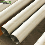 SS316 304 Seamless Well Casing Satinless Steel Pipes Line