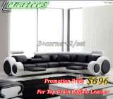 S749 Popular European Designe Sofa with Buffalo Genuine Leather $696 Only
