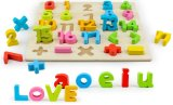 Hotsale Education Toy Wooden Baby Colorful Number Jigsaw Puzzle 3D
