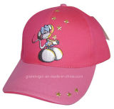 Kids Cotton Twill Baseball Hat with Cartoon Designs