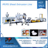 Double Screw Sheet Extrusion and Plastic PP/PS Products Thermoforming Machine Production Line