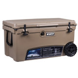 Wholesale Towable Cooler Box Rotomolded 70qt with Wheel