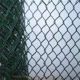 PVC Coated Diamond Wire Mesh Chain Link Fence (XM-116)