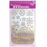 Embossing and Piercing Designing Stencil for Parchment Craft