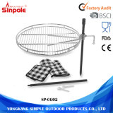 Easy Disassembled Camping Outdoor Barbecue Charcoal Round BBQ Grill