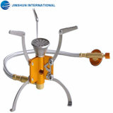 Mini Outdoor Split Cooking Stove Portable Folding Camping Gas Stove
